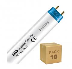 Pack Tube LED Philips CorePro T8 1200mm Connexion Latérale 14.5W (10 un)