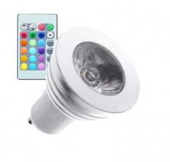 Ampoule LED GU10 RGB 3W