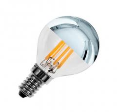 Ampoule LED E14 3.5W G45 Dimmable Filament Argent