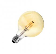 Ampoule LED E27 Dimmable Filament Suprême G125 6W