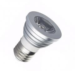 Ampoule LED E27 RGB 3W