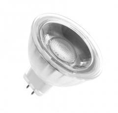 Ampoule LED GU5.3 MR16 COB Cristal 12V 5W