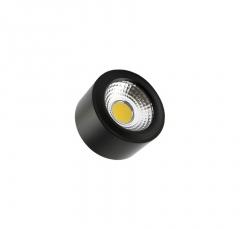Plafonnier LED Style COB 7W  Black