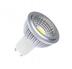 Ampoule LED GU10 Dimmable COB 90º 5W