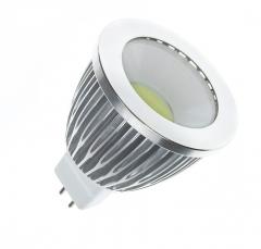Ampoule LED GU5.3 COB 220V AC 90º 5W