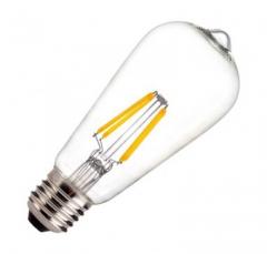 Ampoule LED E27 Dimmable Filament ST58 5.5W
