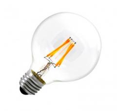 Ampoule LED E27 Dimmable Filament G95 6W