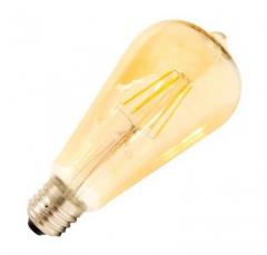 Ampoule LED E27 Dimmable Filament ST64 5.5W